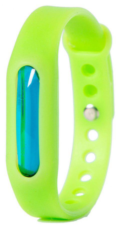 Summer Mosquito Repellent Silicone Wristband - GREEN