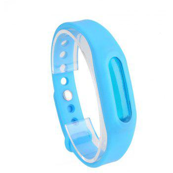 Summer Mosquito Repellent Silicone Wristband - BLUE