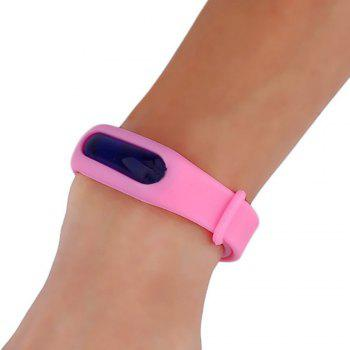 Summer Mosquito Repellent Silicone Wristband - PINK