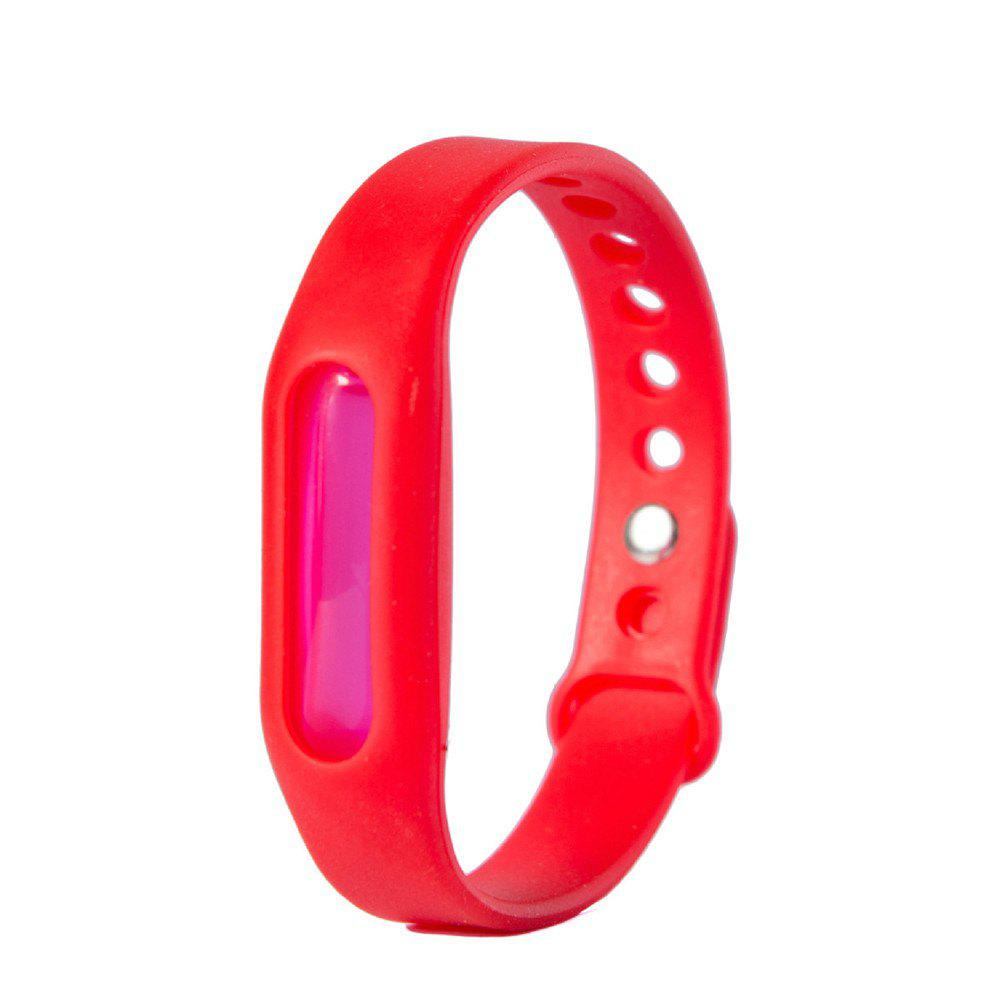 Summer Mosquito Repellent Silicone Wristband - RED