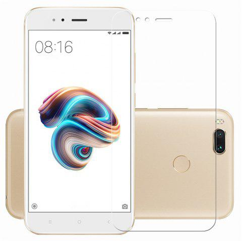 Shockproof and Scratch-Proof Glass Toughened Film for Red Mi Note5A - TRANSPARENT