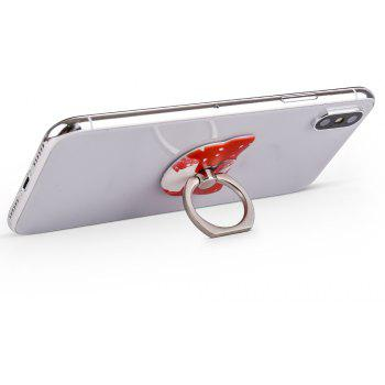 Sexy Girl 360 Degree Finger Ring Mobile Phone Smartphone Stand Holder Smart Phone - RED