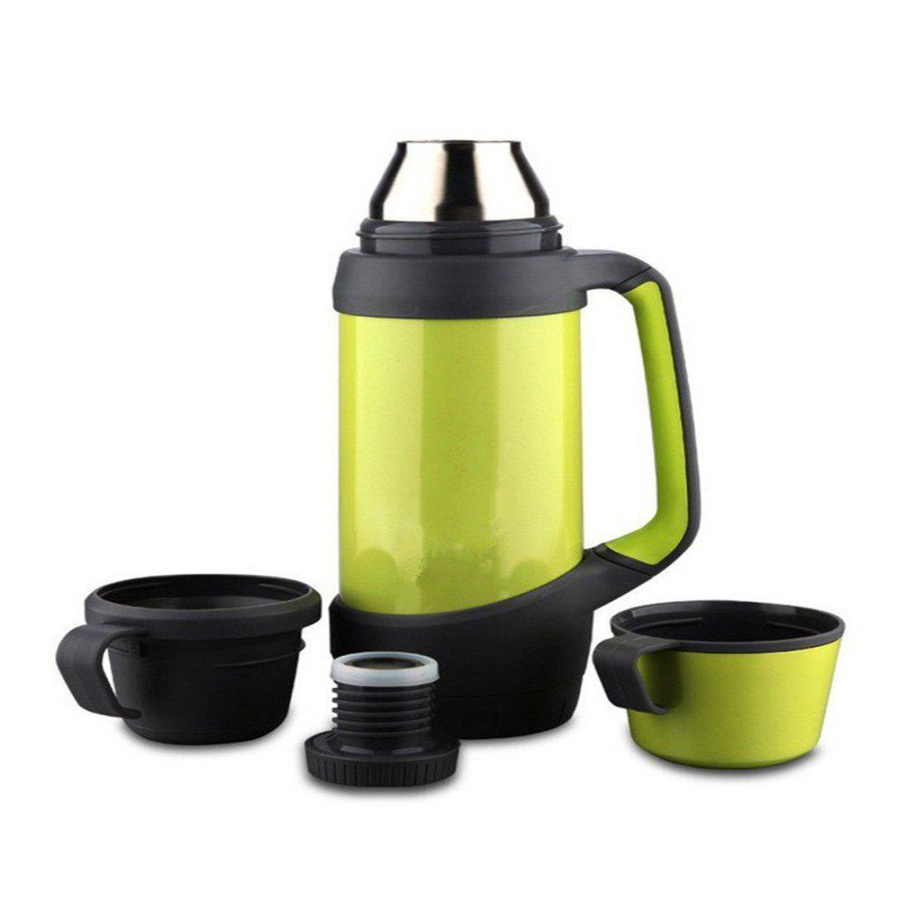 Image For Outdoor Sports High-capacity Vacuum Travel Stainless Steel Pot
