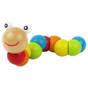 Colorful Amazing Animal Doll Wooden Puzzle Toys - COLORMIX