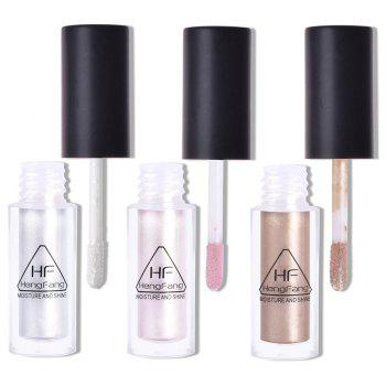 HengFang H6516 3 Colors Highlighter and Bronzer Liquid -