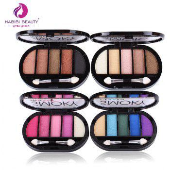 Sexy and Charming 5 Colors Matte Eye Shadow -