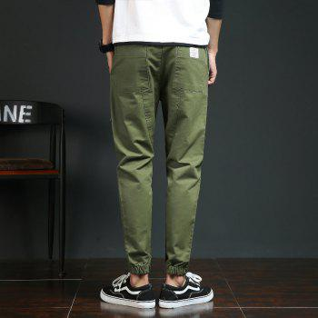 Spring and Autumn New Trend Fashionable Men's Trousers - CADETBLUE L