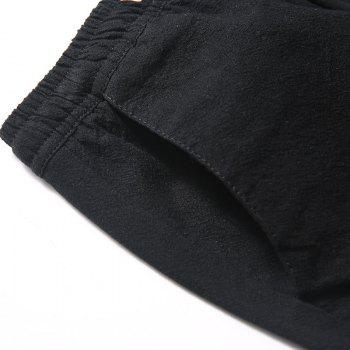 Fashionable Casual Dry Men's Trousers - BLACK M