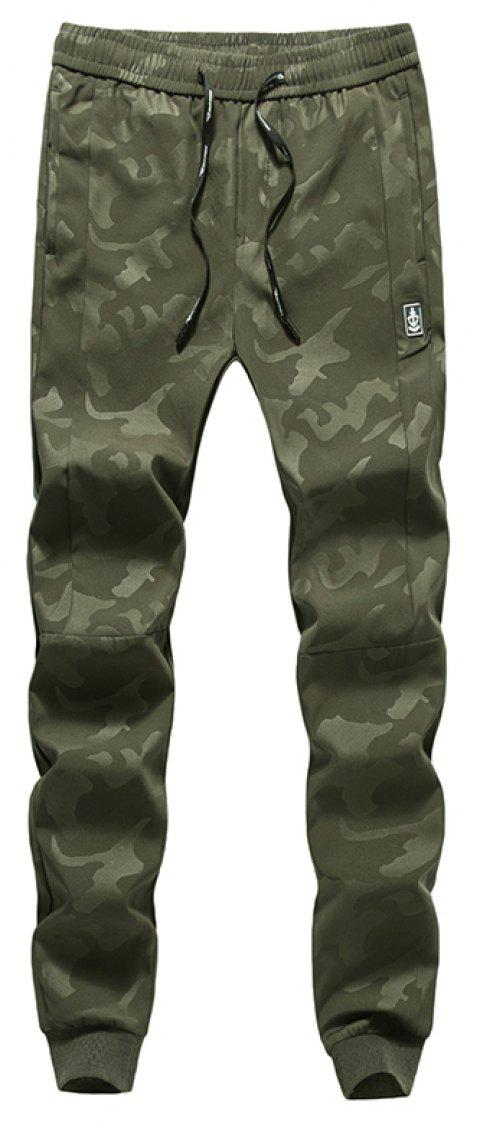 New Fashion Men's Camouflage Trousers - ARMYGREEN 4XL