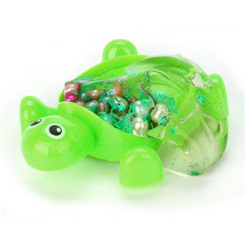 Turtle Crystal Jelly Toy Soft Scented Stress Relief Toy Sludge Toy 4pcs - COLORMIX