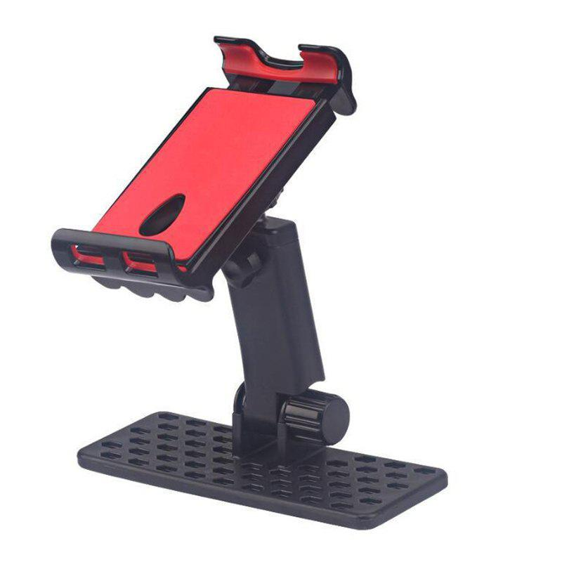 New 4-12 inch Phone Tablet Stand Mount Holder Bracket Hold - BLACK/RED