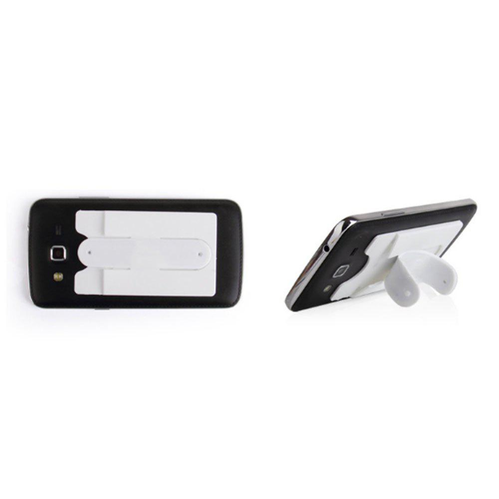 Silicone Card Holder Phone Holder Lazy With Sucker Bracket - WHITE
