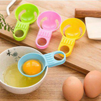 Egg Separator Egg White Yolk Filter Separator for Cooking Kitchen Gadget( 4 Colors,Pack of 4) - COLORMIX