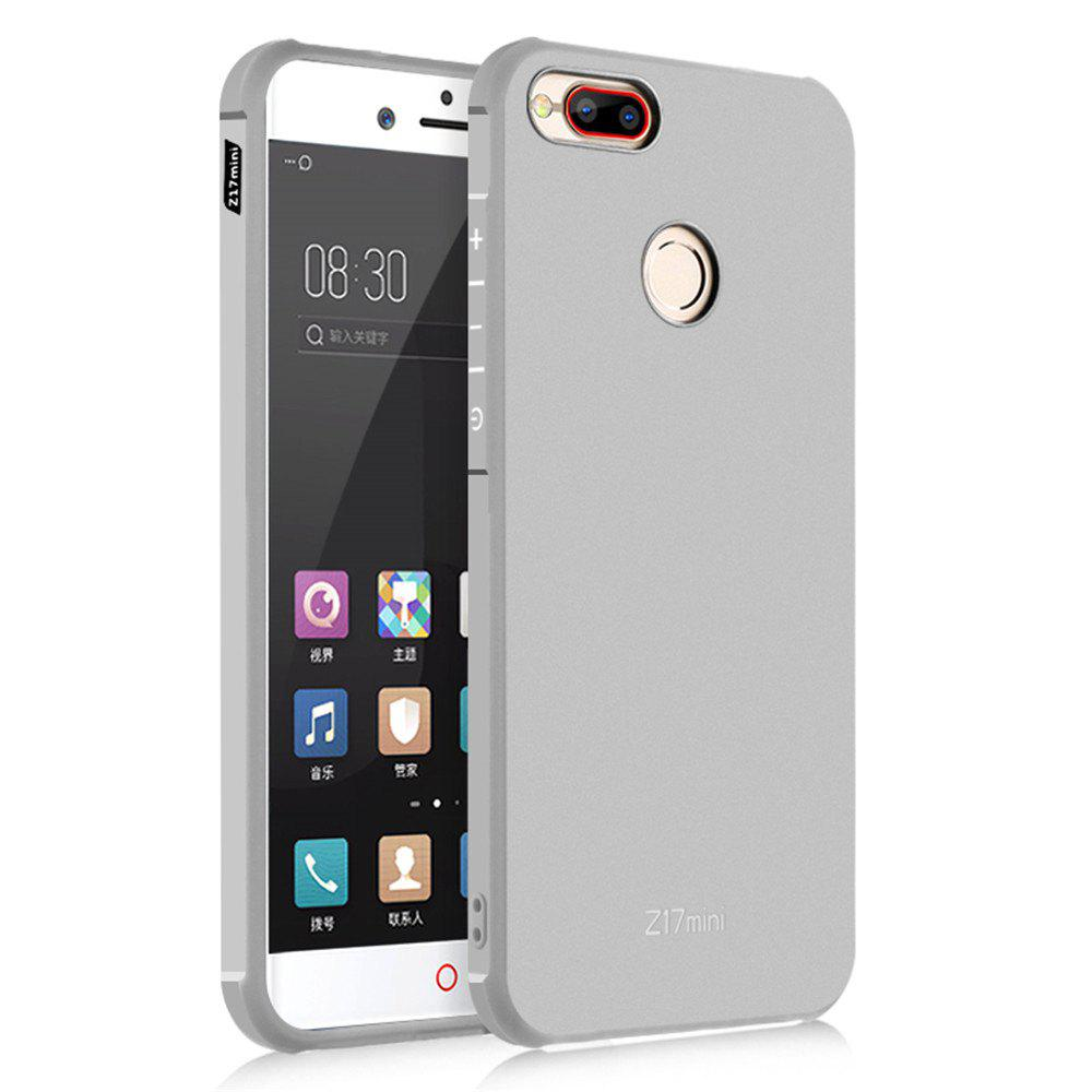 Shockproof Soft Silicone Case for Nubia Z17 Mini Cover Case Fashion Full Protective Phone Case - GRAY