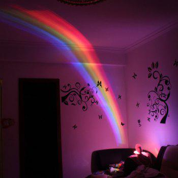 YWXLight Rainbow Projector Magic LED Romantic Night Light  for Kids - MILK WHITE