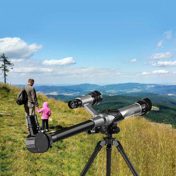Science and Education Children High Definition Telescope - BLACK