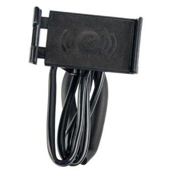 360-Degree Rotating Mobile Phone and Plate Bracket Hanging Around The Neck - BLACK