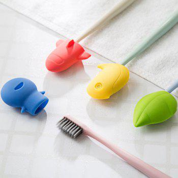 Creative Silicone Toothbrush Holder - GREEN