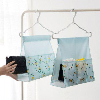 Multi-FunctionLarge Capacity Chest Socks Underwear Collection Hanging Bag - DAY SKY BLUE