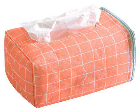 Fresh and Simple Cloth Paper Towel Box - ORANGE
