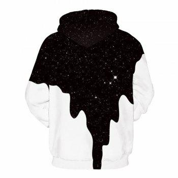 Fashion Pullover Garment Printing 3D Hoodie - NIGHT S