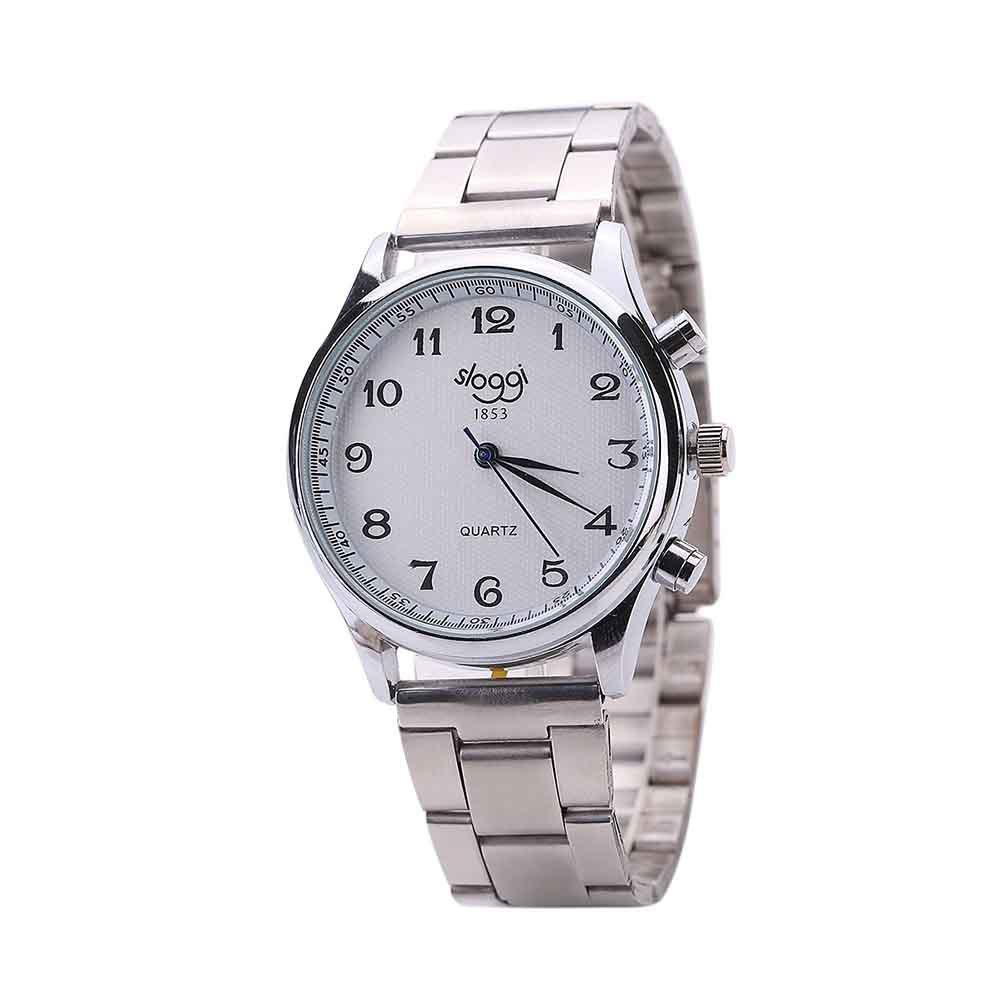 Steel Band Men Casual Business Watch - GUNMETAL
