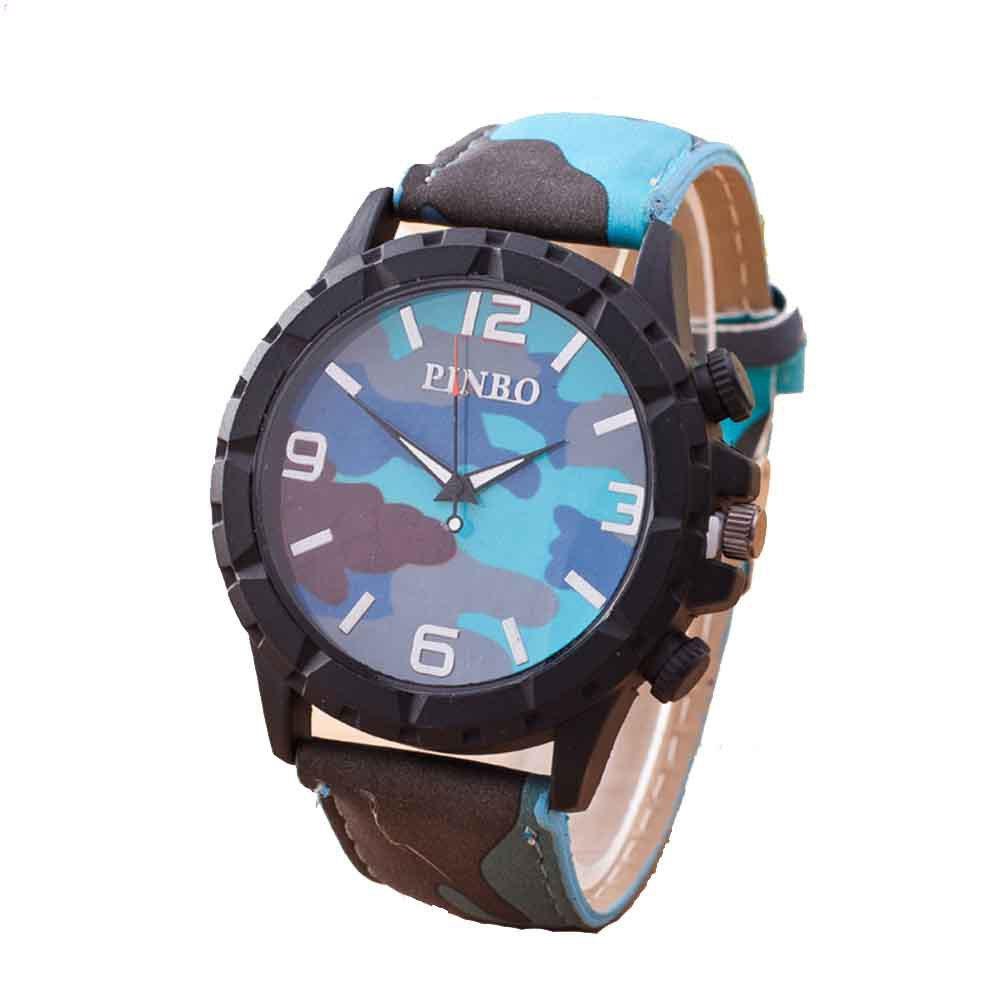 Men Fashion Camouflage Military Watch - NAVY CAMOUFLAGE