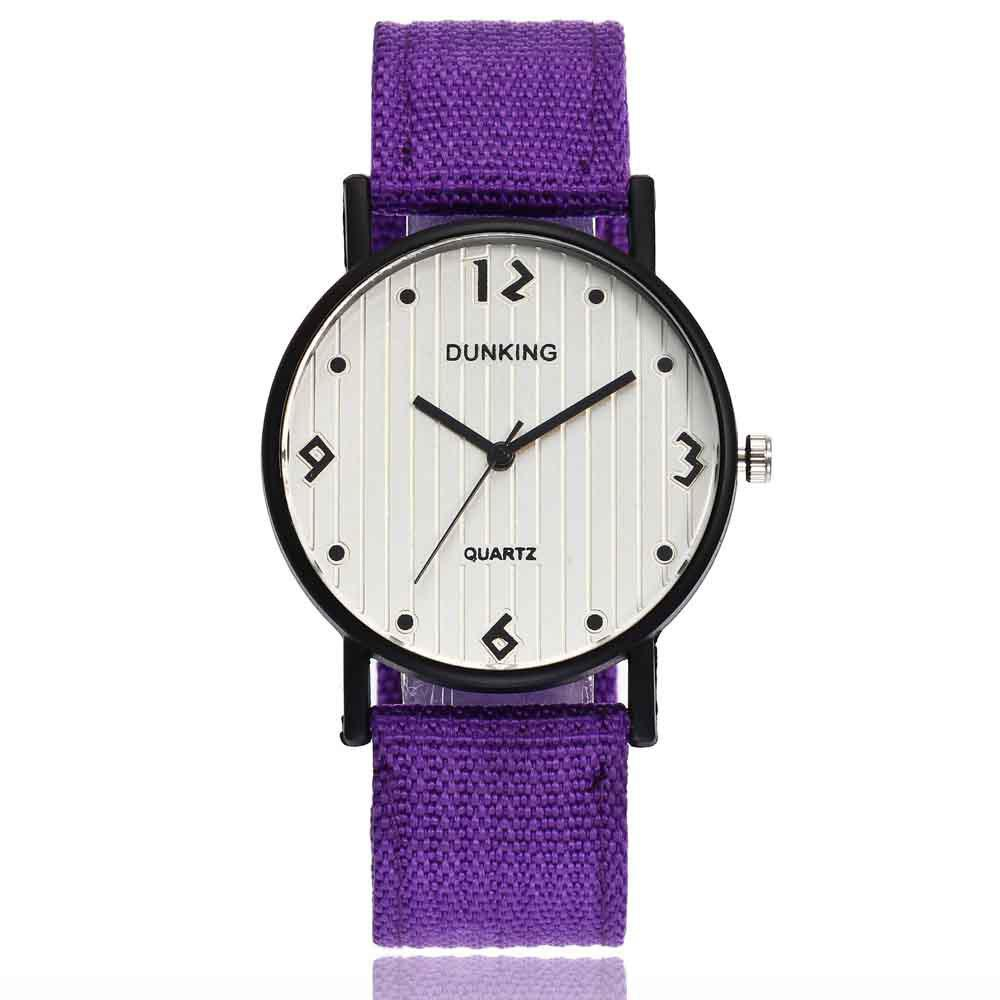 Male Sport Military Personality Quartz Watch - VIOLET