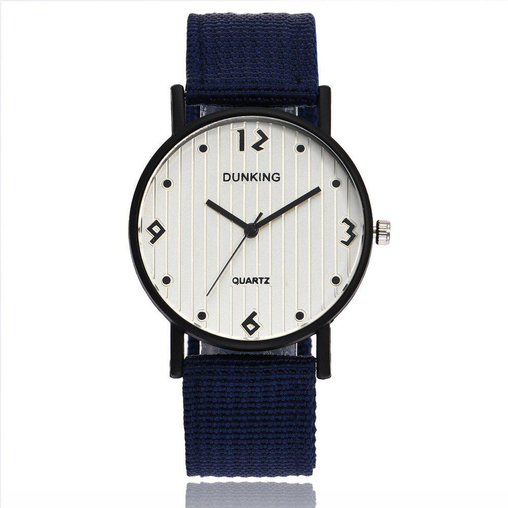 Male Sport Military Personality Quartz Watch - BLUE EYES