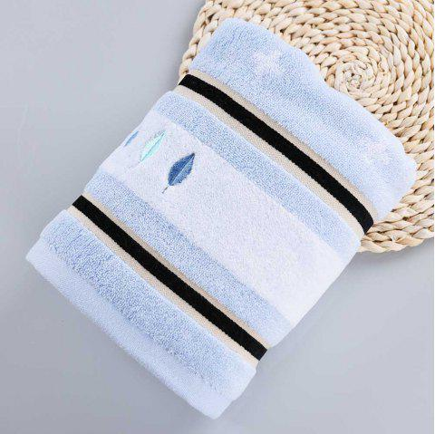 Soft Europe Fashion Cotton Absorbent Shower Cleaning Spa Bath Towel - BLUE