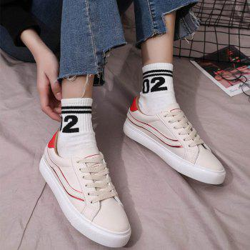 The New Harajuku Joker Leisure Running Sports Shoes - RED 35