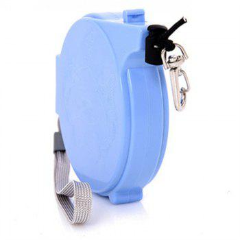 Automatic Fishing Missed Rope Fly Fishing Rod Protector Safety Lanyard 20M - SKY BLUE