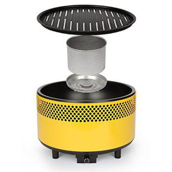Portable Charcoal Ultimate Electric Outdoor Barbecue Grill - CORN YELLOW