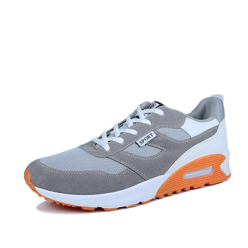 Popular Style Summer Sports Shoes  for Men - BATTLESHIP GRAY 42
