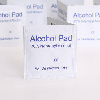 Medical Alcohol Cellucotton Pad 100PCS - MILK WHITE 4.8X4.8CM