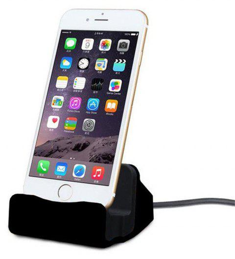 Charging Station Charger Dock for Charging Station Charger Dock for iPhone 8/ 8 Plus /iPhone X/ 7 Plus/7 6S 6S Plus - BLACK