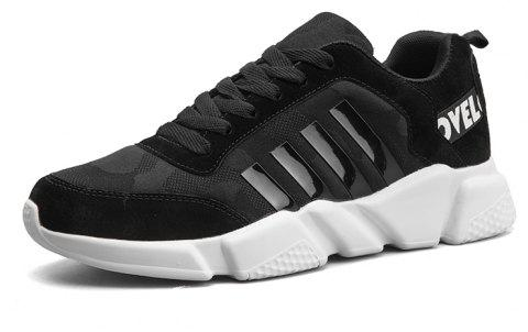 New Men's Lightweight Solid Color Classic Sneakers - NIGHT 42