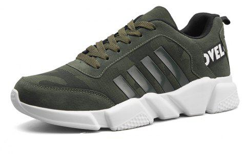 New Men's Lightweight Solid Color Classic Sneakers - MEDIUM SEA GREEN 39