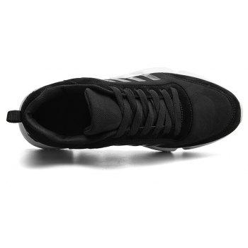 New Men's Lightweight Solid Color Classic Sneakers - NIGHT 40