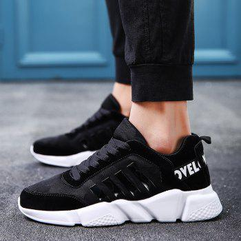 New Men's Lightweight Solid Color Classic Sneakers - NIGHT 44