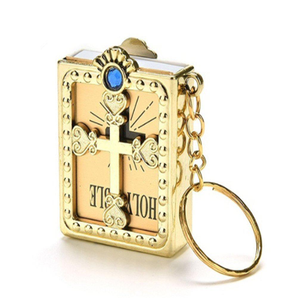 Creative Fashion Bible Pendant - GOLD
