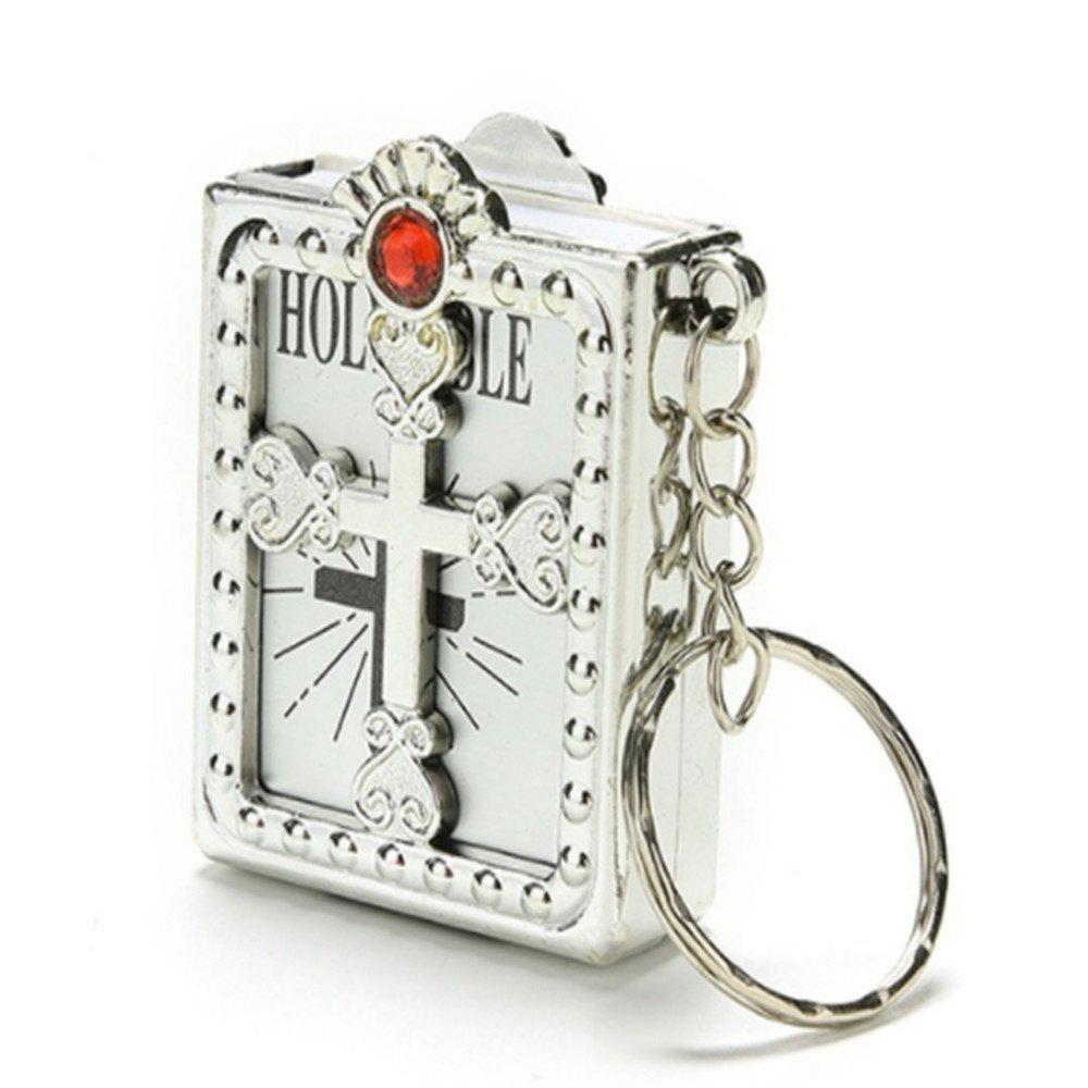 Creative Fashion Bible Pendant - SILVER