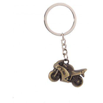Hot Personalized High-quality Motorcycle Pendant Key Chain - COPPER