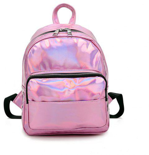 Fashion Simple Wild Fresh and Lovely Female Travel Backpack - PINK