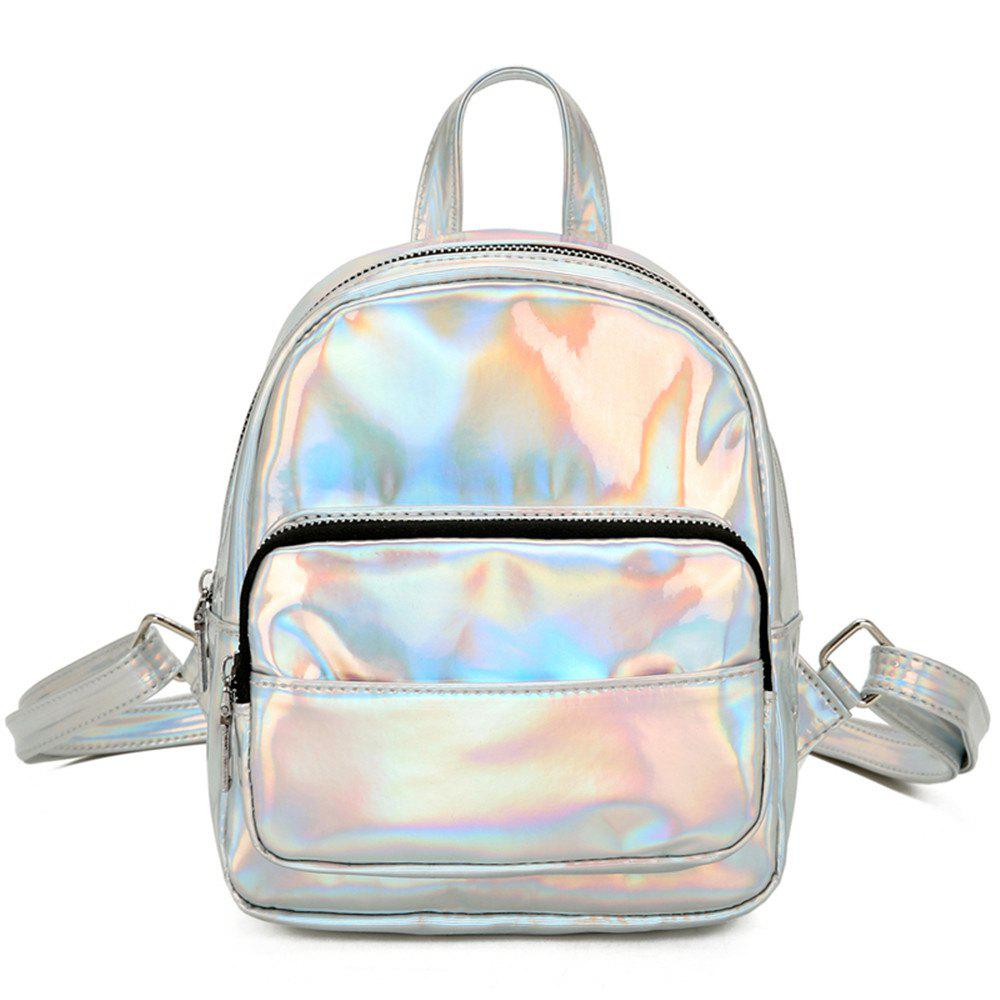 Fashion Simple Wild Fresh and Lovely Female Travel Backpack - GRAY