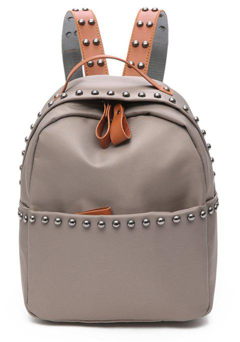 Fashion Wild Large Capacity Simple Small Fresh Cute Travel Backpack Tide - GRAY