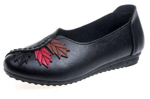 Flat Feet Home Casual Women'S Shoes - BLACK 40