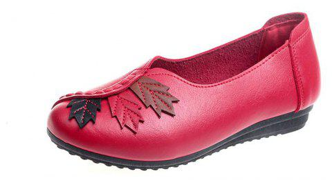 Flat Feet Home Casual Women'S Shoes - RED 37