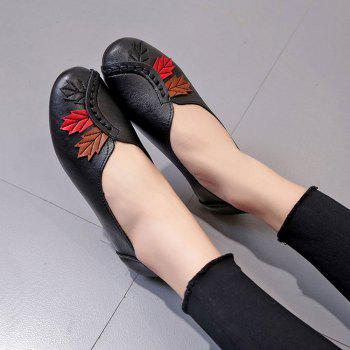 Flat Feet Home Casual Women'S Shoes - BLACK 37