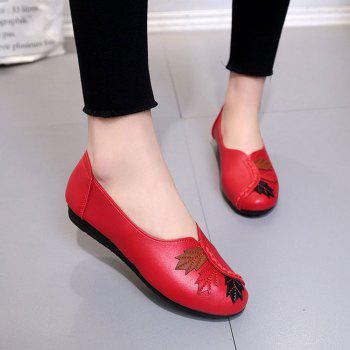 Flat Feet Home Casual Women'S Shoes - RED 38
